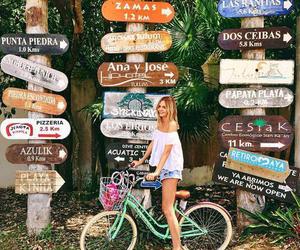summer and bike image