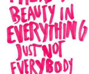 beauty, quote, and pink image