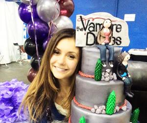 Nina Dobrev, tvd, and the vampire diaries image