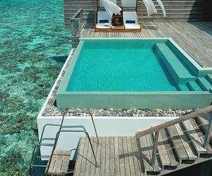 pool, sea, and summer image