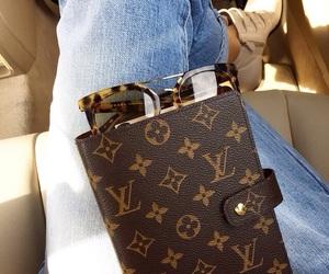sunglasses, fashion, and jeans image