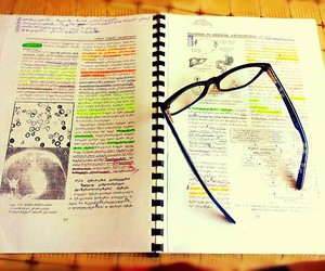 book, glasses, and learn image