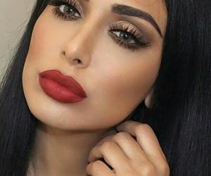 eyes, hair, and lips image