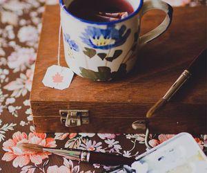 tea, vintage, and art image