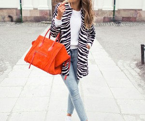 bag, beauty, and jeans image
