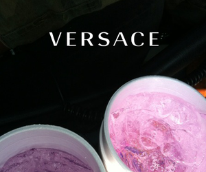 purple and Versace image
