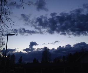 blue, clouds, and grunge image