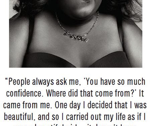 confidence, quotes, and gabourey sidibe image