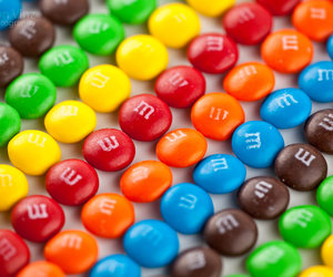 candy, colors, and M image