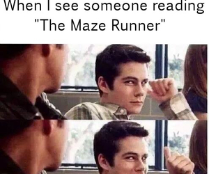 book, Hot, and maze runner image