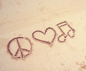 heart, girly, and music image