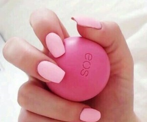 nails, pomegranate, and pink image