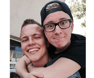 smile, tyler oakley, and cute image