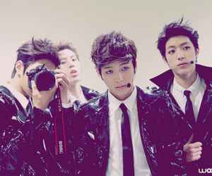 infinite, woohyun, and L image
