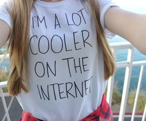 tumblr, internet, and shirt image