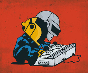argent, daft punk, and music image