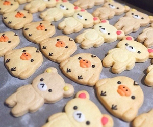 Cookies, food, and rilakkuma image
