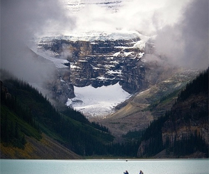 lake, nature, and mountains image