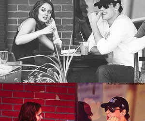 leighton meester and cory monteith image