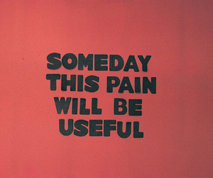 quotes, pain, and red image
