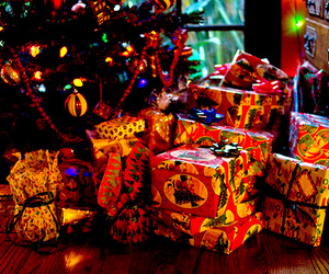 christmas, presents, and winter image