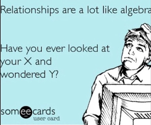 algebra, funny, and problems image