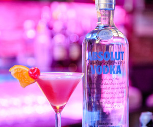 absolut vodka, alcohol, and cocktail image