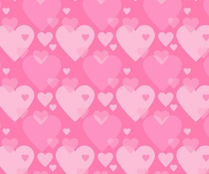 pattern, pink, and love image