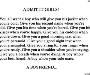 boy, girl, and love image