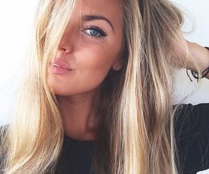 blogger, blonde, and brune image