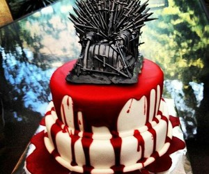 game of thrones and cake image