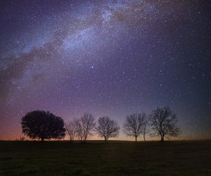 nature, night, and sky image