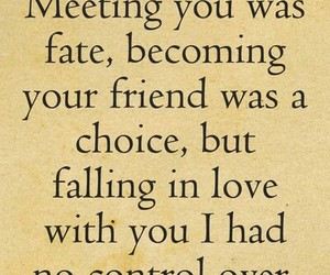 choice, falling in love, and fate image