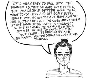 summer, quote, and pep talk image