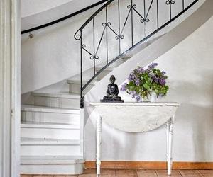 buddah, hallway, and house image