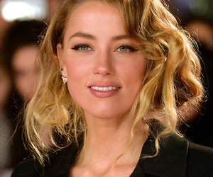 amber heard, pretty, and blonde image