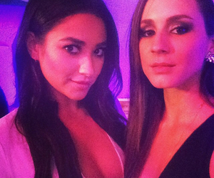 pll, shay mitchell, and troian bellisario image