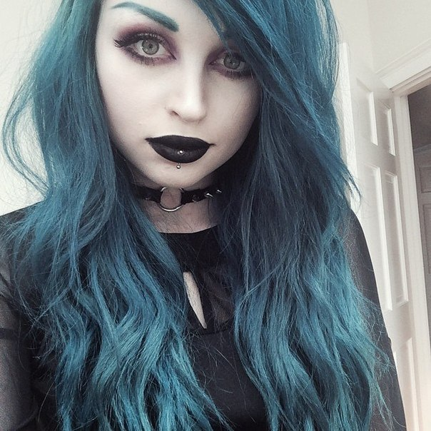 1 Dyed Hair Tumblr On We Heart It