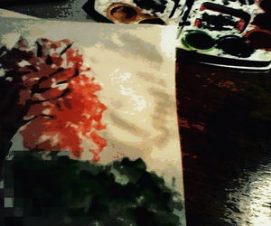colours, tree, and watercolours image