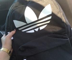 adidas, black, and bag image