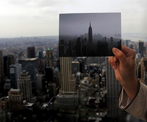 city, new york, and photo image