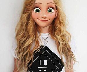 blonde, hair, and disney image