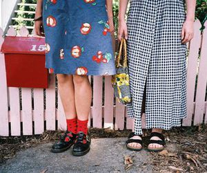 girls, vintage, and cute image