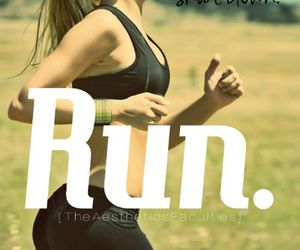 run, fit, and fitness image