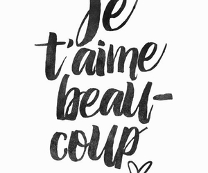 quote, france, and je t'aime image