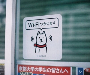 japan and wi-fi image