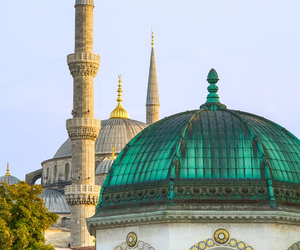islam, istanbul, and architecture image