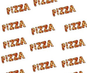 background, pizza, and food image