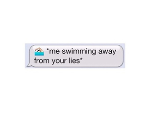 lies, quotes, and text image