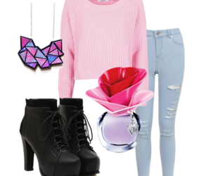 inspiration, necklase, and outfit image